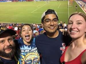 Vet Tix Luv attended FC Dallas vs. Vancouver Whitecaps - MLS - Military Appreciation - Fireworks Show! on Jul 4th 2021 via VetTix
