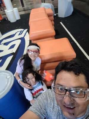 A.P attended Nerf Challenge on Jul 9th 2021 via VetTix