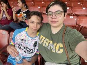 Carolina attended Las Vegas Lights FC vs. Tacoma Defiance - USL on Jul 3rd 2021 via VetTix