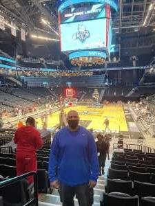BFX attended New York Liberty vs. Washington Mystics - WNBA on Jul 3rd 2021 via VetTix