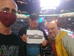 Eliot attended New York Liberty vs. Washington Mystics - WNBA on Jul 3rd 2021 via VetTix