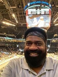 Shaun attended New York Liberty vs. Washington Mystics - WNBA on Jul 3rd 2021 via VetTix