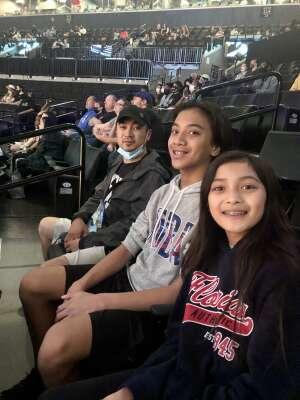 NY LIBERTY WNBA attended New York Liberty vs. Washington Mystics - WNBA on Jul 3rd 2021 via VetTix