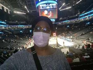 Yolanda attended New York Liberty vs. Washington Mystics - WNBA on Jul 3rd 2021 via VetTix