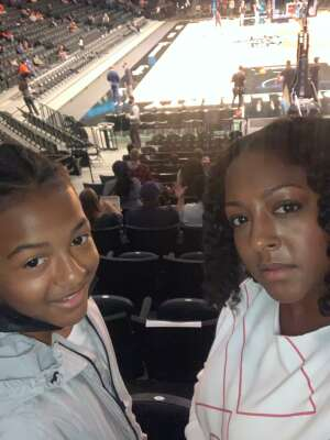 Kenneth Bell  attended New York Liberty vs. Washington Mystics - WNBA on Jul 3rd 2021 via VetTix