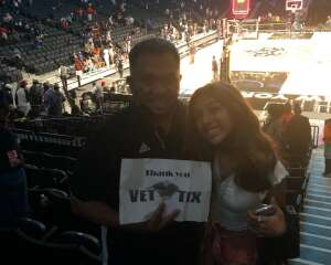 AO attended New York Liberty vs. Washington Mystics - WNBA on Jul 3rd 2021 via VetTix