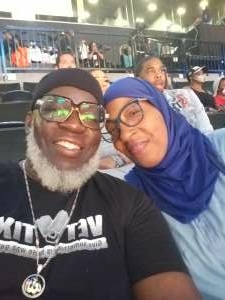 Norman Barron  attended New York Liberty vs. Washington Mystics - WNBA on Jul 3rd 2021 via VetTix