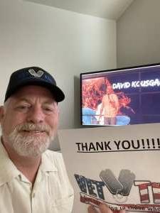 David attended World Series of Comedy - Virtual Event on Jul 7th 2021 via VetTix