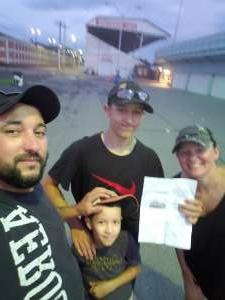 Josh  attended 4-wheel Jamboree on Jul 9th 2021 via VetTix