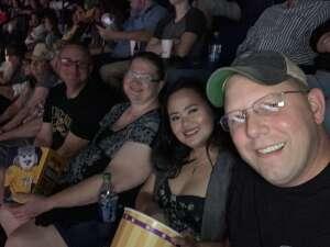 B-Ford attended Alabama's 50th Anniversary Tour on Jul 3rd 2021 via VetTix