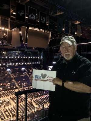 Mike Mann attended Alabama's 50th Anniversary Tour on Jul 3rd 2021 via VetTix
