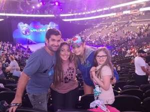 Mike attended Disney on Ice Presents Mickey's Search Party on Aug 5th 2021 via VetTix