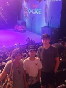 shawn palko attended Disney on Ice Presents Mickey's Search Party on Aug 5th 2021 via VetTix