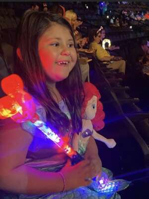 Sally attended Disney on Ice Presents Mickey's Search Party on Aug 5th 2021 via VetTix