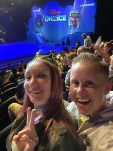 Paige  attended Disney on Ice Presents Mickey's Search Party on Aug 5th 2021 via VetTix