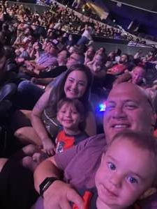 Sal Ambriz attended Disney on Ice Presents Mickey's Search Party on Aug 5th 2021 via VetTix