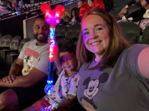 Joe attended Disney on Ice Presents Mickey's Search Party on Aug 5th 2021 via VetTix