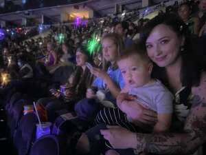 Brayden attended Disney on Ice Presents Mickey's Search Party on Aug 5th 2021 via VetTix