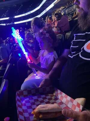 Bill attended Disney on Ice Presents Mickey's Search Party on Aug 5th 2021 via VetTix