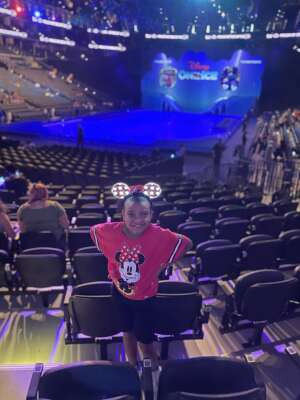 Nina attended Disney on Ice Presents Mickey's Search Party on Aug 5th 2021 via VetTix