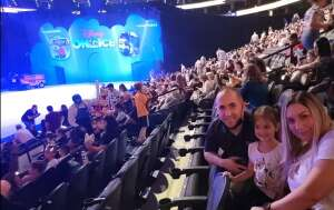 Luis attended Disney on Ice Presents Mickey's Search Party on Aug 5th 2021 via VetTix