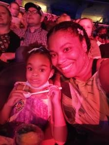 Johanna  attended Disney on Ice Presents Mickey's Search Party on Aug 5th 2021 via VetTix