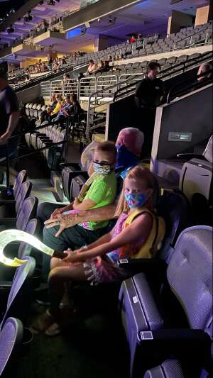 Aaron  attended Disney on Ice Presents Mickey's Search Party on Aug 5th 2021 via VetTix