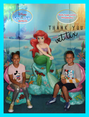 Binecz Family attended Disney on Ice Presents Mickey's Search Party on Aug 5th 2021 via VetTix