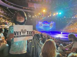 Rich DC attended Disney on Ice Presents Mickey's Search Party on Aug 5th 2021 via VetTix