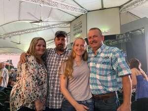 Felicia Mintz attended Clay Walker on Jul 9th 2021 via VetTix