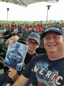 Paul attended Clay Walker on Jul 9th 2021 via VetTix