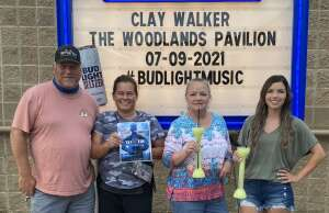 Click To Read More Feedback from Clay Walker