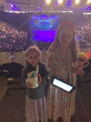 Shane attended Disney on Ice Presents Mickey's Search Party on Aug 12th 2021 via VetTix