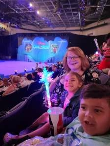 Mark Hill attended Disney on Ice Presents Mickey's Search Party on Aug 12th 2021 via VetTix