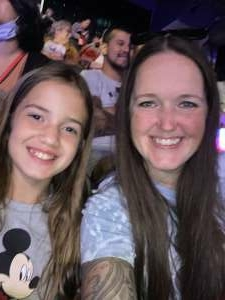 Kelli  attended Disney on Ice Presents Mickey's Search Party on Aug 12th 2021 via VetTix