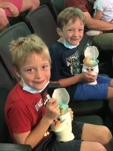 Brian  attended Disney on Ice Presents Mickey's Search Party on Aug 12th 2021 via VetTix