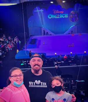Michael attended Disney on Ice Presents Mickey's Search Party on Aug 12th 2021 via VetTix