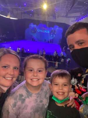 Drew attended Disney on Ice Presents Mickey's Search Party on Aug 12th 2021 via VetTix