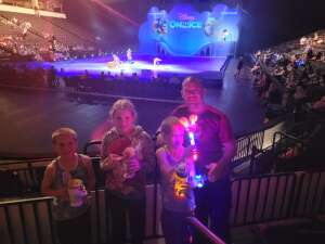 Bill attended Disney on Ice Presents Mickey's Search Party on Aug 12th 2021 via VetTix