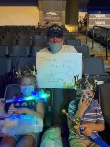 Fred K attended Disney on Ice Presents Mickey's Search Party on Aug 12th 2021 via VetTix
