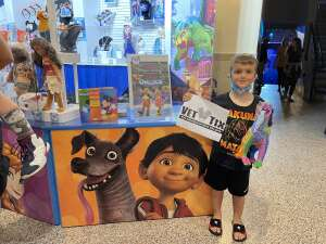 The Mahaffey Family attended Disney on Ice Presents Mickey's Search Party on Aug 12th 2021 via VetTix