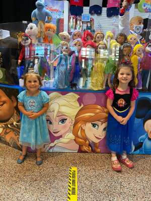 ITC(EXW/SW) Doug McPeek attended Disney on Ice Presents Mickey's Search Party on Aug 12th 2021 via VetTix