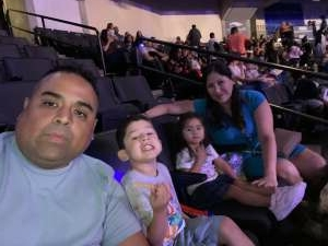 Carlos attended Disney on Ice Presents Mickey's Search Party on Aug 12th 2021 via VetTix