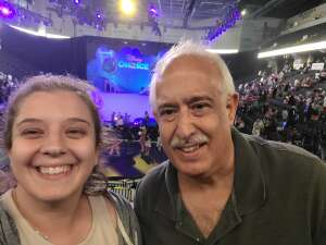 Ron attended Disney on Ice Presents Mickey's Search Party on Aug 12th 2021 via VetTix