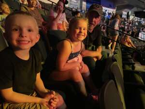 Jared attended Disney on Ice Presents Mickey's Search Party on Aug 12th 2021 via VetTix