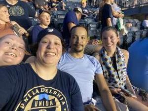 Tania attended Philadelphia Union vs. DC United - MLS on Jul 17th 2021 via VetTix
