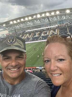 #DOOP attended Philadelphia Union vs. DC United - MLS on Jul 17th 2021 via VetTix
