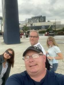 Richard attended Philadelphia Union vs. DC United - MLS on Jul 17th 2021 via VetTix