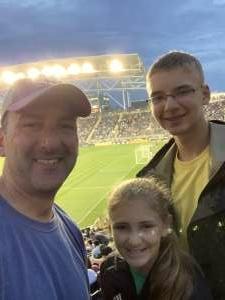 Mark attended Philadelphia Union vs. DC United - MLS on Jul 17th 2021 via VetTix