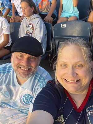 Todd attended Philadelphia Union vs. DC United - MLS on Jul 17th 2021 via VetTix